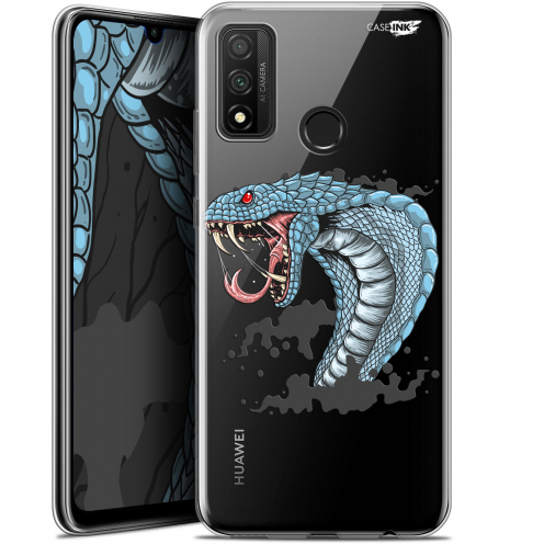 "Extra Slim Gel Huawei P Smart 2020 (6.2"") Case Design Cobra Draw"