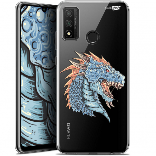 "Extra Slim Gel Huawei P Smart 2020 (6.2"") Case Design Dragon Draw"