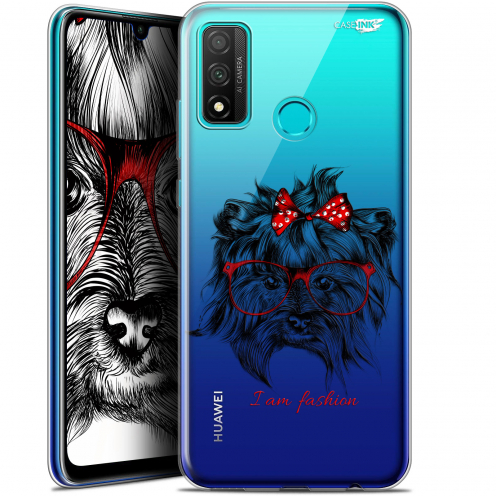 "Extra Slim Gel Huawei P Smart 2020 (6.2"") Case Design Fashion Dog"
