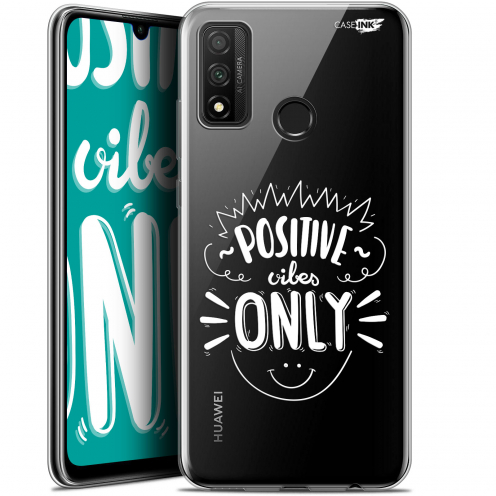 """Extra Slim Gel Huawei P Smart 2020 (6.2"""") Case Design Positive Vibes Only"""