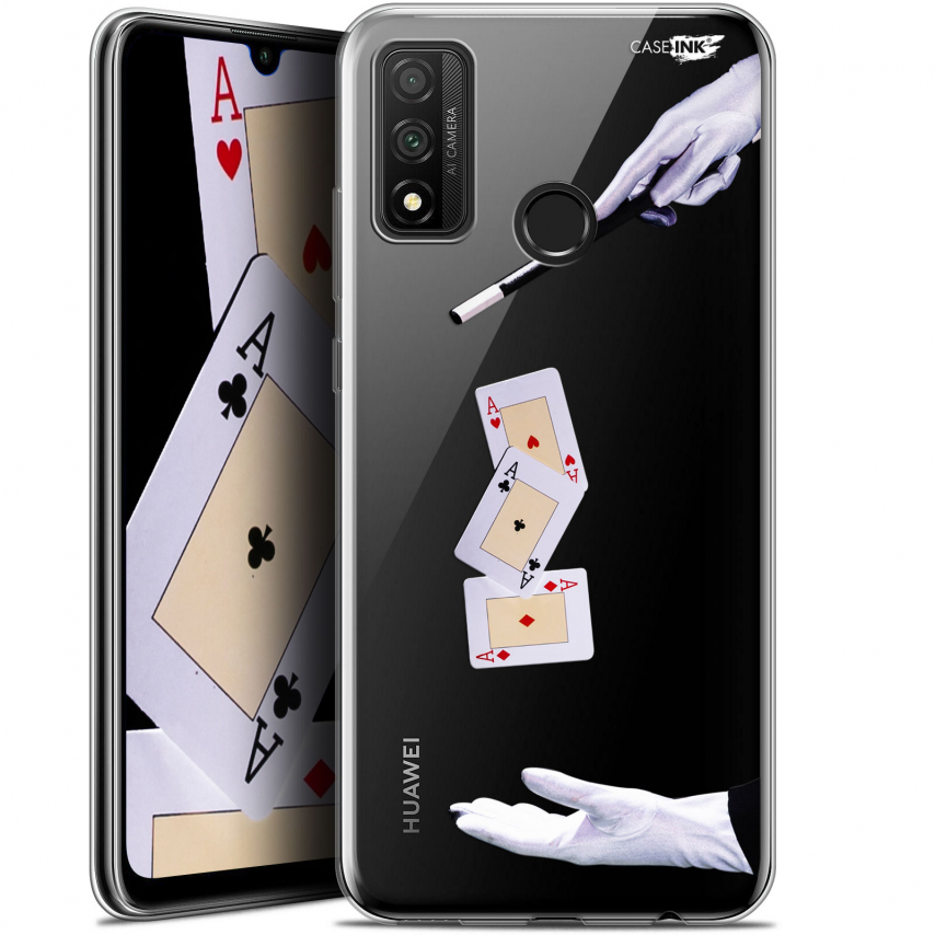 "Extra Slim Gel Huawei P Smart 2020 (6.2"") Case Design Cartes Magiques"