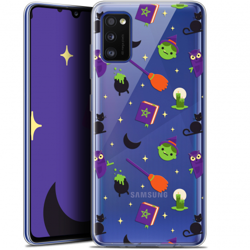 "Extra Slim Gel Samsung Galaxy A41 (6.1"") Case Halloween Witch Potter"