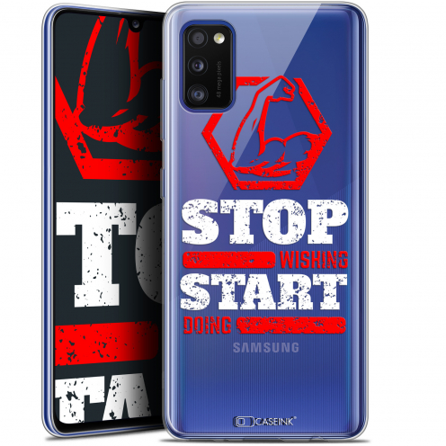 "Extra Slim Gel Samsung Galaxy A41 (6.1"") Case Quote Start Doing"