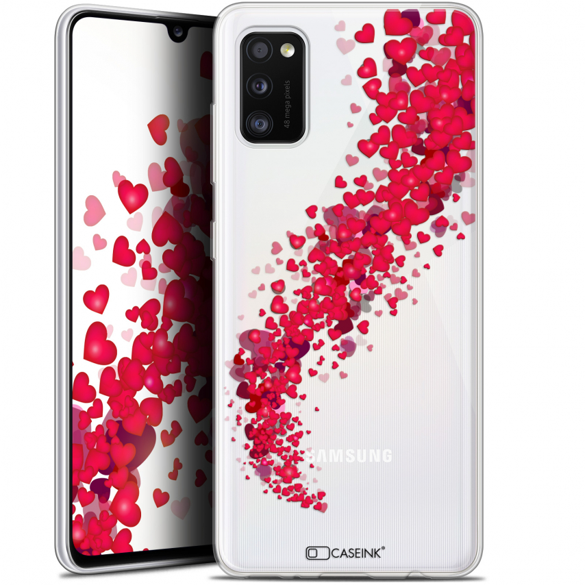 "Extra Slim Gel Samsung Galaxy A41 (6.1"") Case Love Tornado"