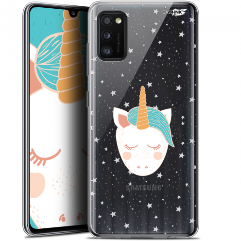 "Extra Slim Gel Samsung Galaxy A41 (6.1"") Case Design Licorne Dors"