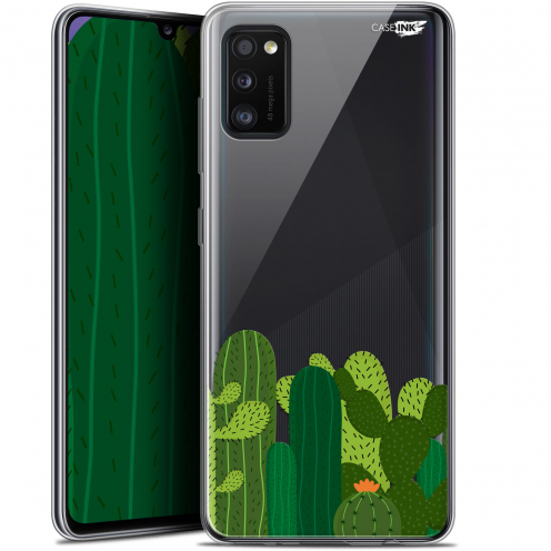 "Extra Slim Gel Samsung Galaxy A41 (6.1"") Case Design Cactus"