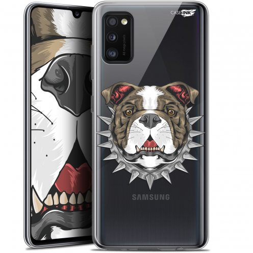 "Extra Slim Gel Samsung Galaxy A41 (6.1"") Case Design Doggy"
