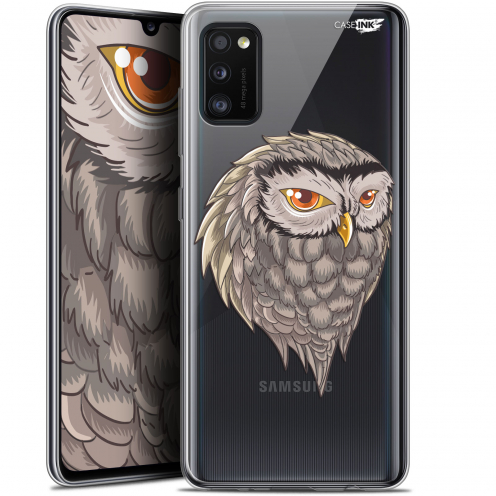 "Extra Slim Gel Samsung Galaxy A41 (6.1"") Case Design Hibou Draw"