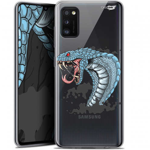 "Extra Slim Gel Samsung Galaxy A41 (6.1"") Case Design Cobra Draw"