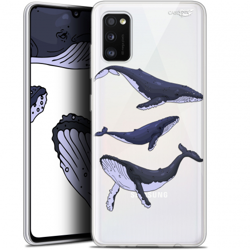 "Extra Slim Gel Samsung Galaxy A41 (6.1"") Case Design Les 3 Baleines"