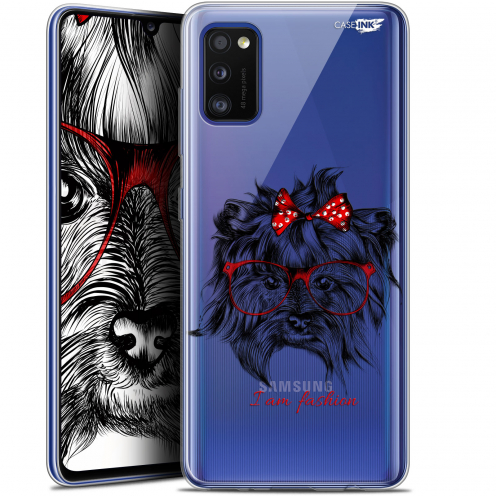 "Extra Slim Gel Samsung Galaxy A41 (6.1"") Case Design Fashion Dog"