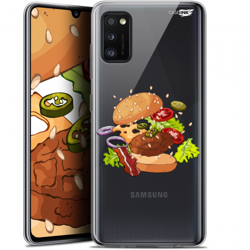 "Extra Slim Gel Samsung Galaxy A41 (6.1"") Case Design Splash Burger"