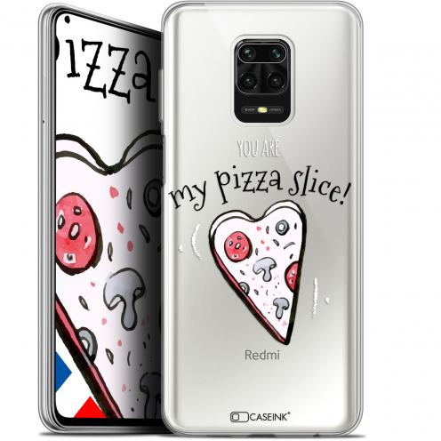 "Extra Slim Gel Xiaomi Redmi Note 9S (6.67"") Case Love My Pizza Slice"
