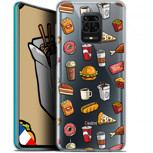 "Extra Slim Gel Xiaomi Redmi Note 9S (6.67"") Case Foodie Fast Food"