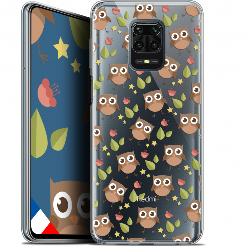 "Extra Slim Gel Xiaomi Redmi Note 9S (6.67"") Case Summer Hibou"