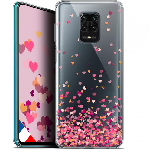 "Extra Slim Gel Xiaomi Redmi Note 9S (6.67"") Case Sweetie Heart Flakes"
