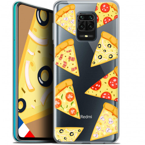 "Extra Slim Gel Xiaomi Redmi Note 9S (6.67"") Case Foodie Pizza"