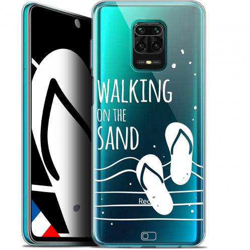 "Extra Slim Gel Xiaomi Redmi Note 9S (6.67"") Case Summer Walking on the Sand"