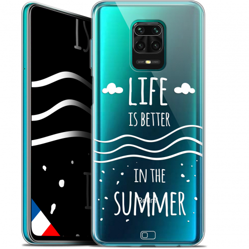 "Extra Slim Gel Xiaomi Redmi Note 9S (6.67"") Case Summer Life's Better"