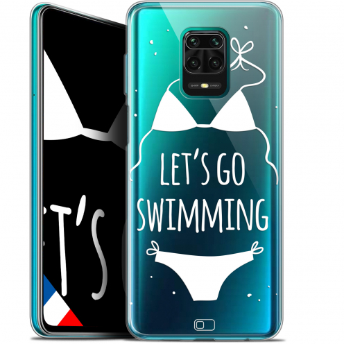 "Extra Slim Gel Xiaomi Redmi Note 9S (6.67"") Case Summer Let's Go Swim"
