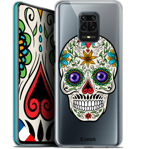 "Extra Slim Gel Xiaomi Redmi Note 9S (6.67"") Case Skull Maria's Flower"