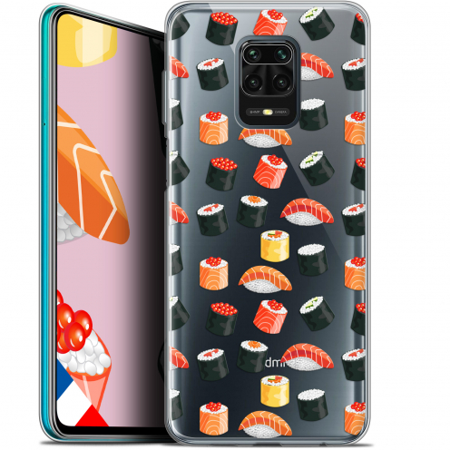 "Extra Slim Gel Xiaomi Redmi Note 9S (6.67"") Case Foodie Sushi"
