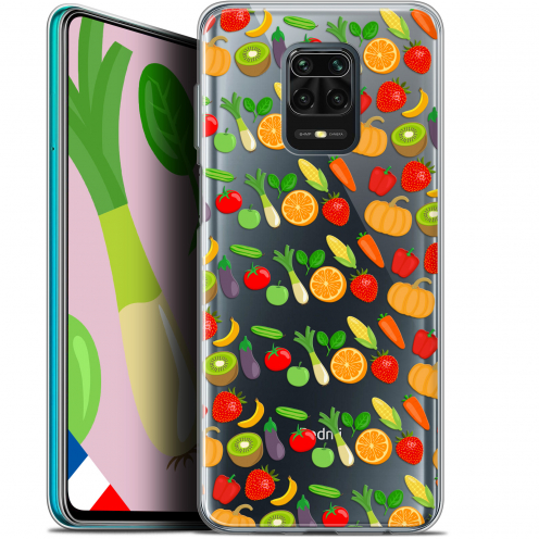 "Extra Slim Gel Xiaomi Redmi Note 9S (6.67"") Case Foodie Healthy"