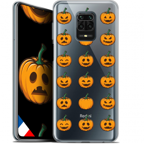 "Extra Slim Gel Xiaomi Redmi Note 9S (6.67"") Case Halloween Smiley Citrouille"