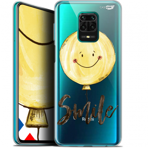 "Extra Slim Gel Xiaomi Redmi Note 9S (6.67"") Case Design Smile Baloon"