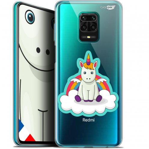 "Extra Slim Gel Xiaomi Redmi Note 9S (6.67"") Case Design Bébé Licorne"