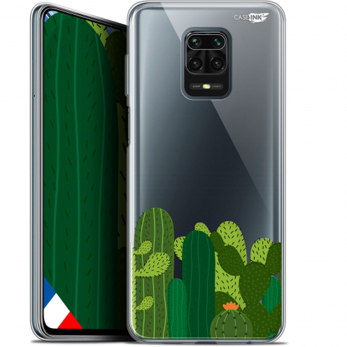 "Extra Slim Gel Xiaomi Redmi Note 9S (6.67"") Case Design Cactus"