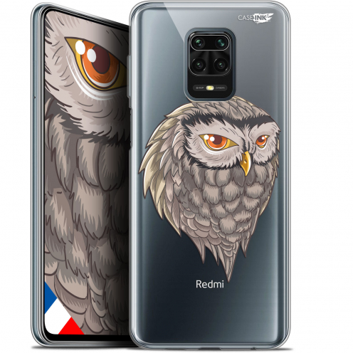 "Extra Slim Gel Xiaomi Redmi Note 9S (6.67"") Case Design Hibou Draw"