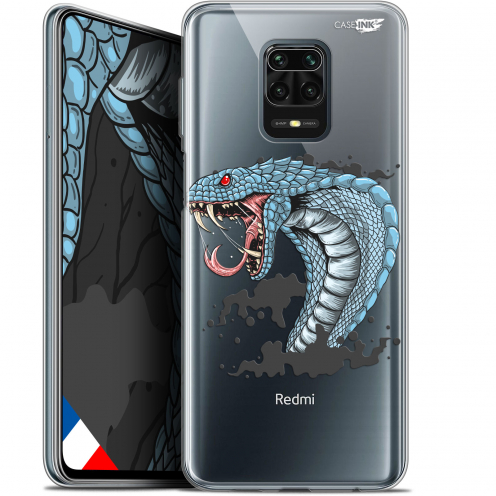 "Extra Slim Gel Xiaomi Redmi Note 9S (6.67"") Case Design Cobra Draw"