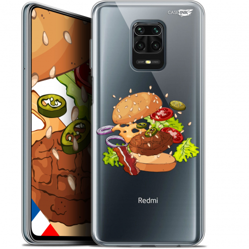"Extra Slim Gel Xiaomi Redmi Note 9S (6.67"") Case Design Splash Burger"