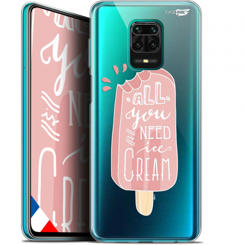 "Extra Slim Gel Xiaomi Redmi Note 9S (6.67"") Case Design Ice Cream"
