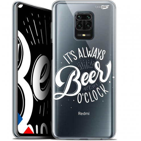 "Extra Slim Gel Xiaomi Redmi Note 9S (6.67"") Case Design Its Beer O'Clock"