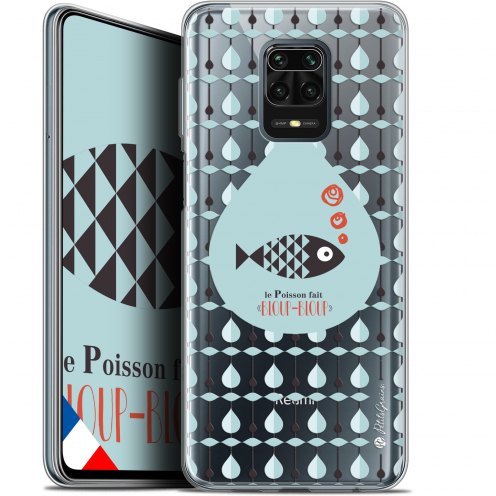 "Extra Slim Gel Xiaomi Redmi Note 9S (6.67"") Case Petits Grains® Le Poisson"