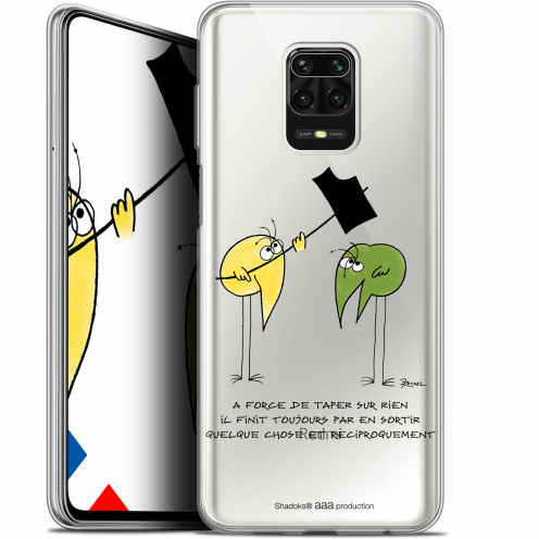 """Extra Slim Gel Xiaomi Redmi Note 9S (6.67"""") Case Les Shadoks® A Force"""