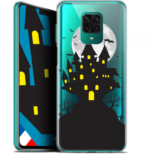 "Extra Slim Gel Xiaomi Redmi Note 9 PRO (6.67"") Case Halloween Castle Scream"