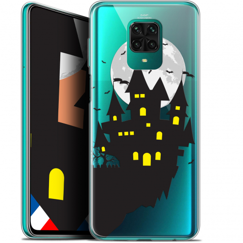 "Extra Slim Gel Xiaomi Redmi Note 9 PRO (6.67"") Case Halloween Castle Dream"