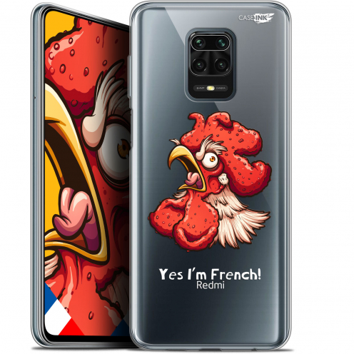 "Extra Slim Gel Xiaomi Redmi Note 9 PRO (6.67"") Case Design I'm French Coq"
