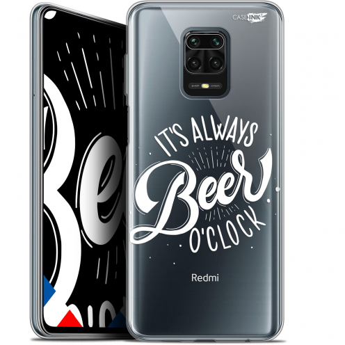 "Extra Slim Gel Xiaomi Redmi Note 9 PRO (6.67"") Case Design Its Beer O'Clock"