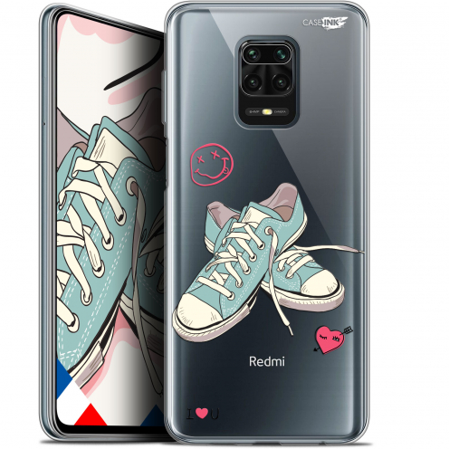 "Extra Slim Gel Xiaomi Redmi Note 9 PRO (6.67"") Case Design Mes Sneakers d'Amour"