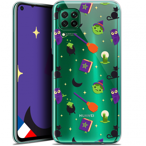 """Extra Slim Gel Huawei P40 Lite (6.4"""") Case Halloween Witch Potter"""