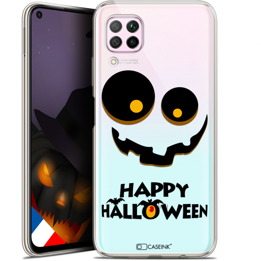 "Extra Slim Gel Huawei P40 Lite (6.4"") Case Halloween Happy"