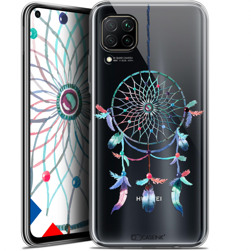 "Extra Slim Gel Huawei P40 Lite (6.4"") Case Dreamy Attrape Rêves Rainbow"