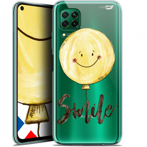 "Extra Slim Gel Huawei P40 Lite (6.4"") Case Design Smile Baloon"