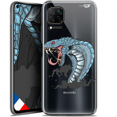 "Extra Slim Gel Huawei P40 Lite (6.4"") Case Design Cobra Draw"