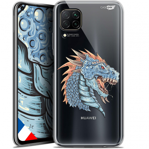 "Extra Slim Gel Huawei P40 Lite (6.4"") Case Design Dragon Draw"