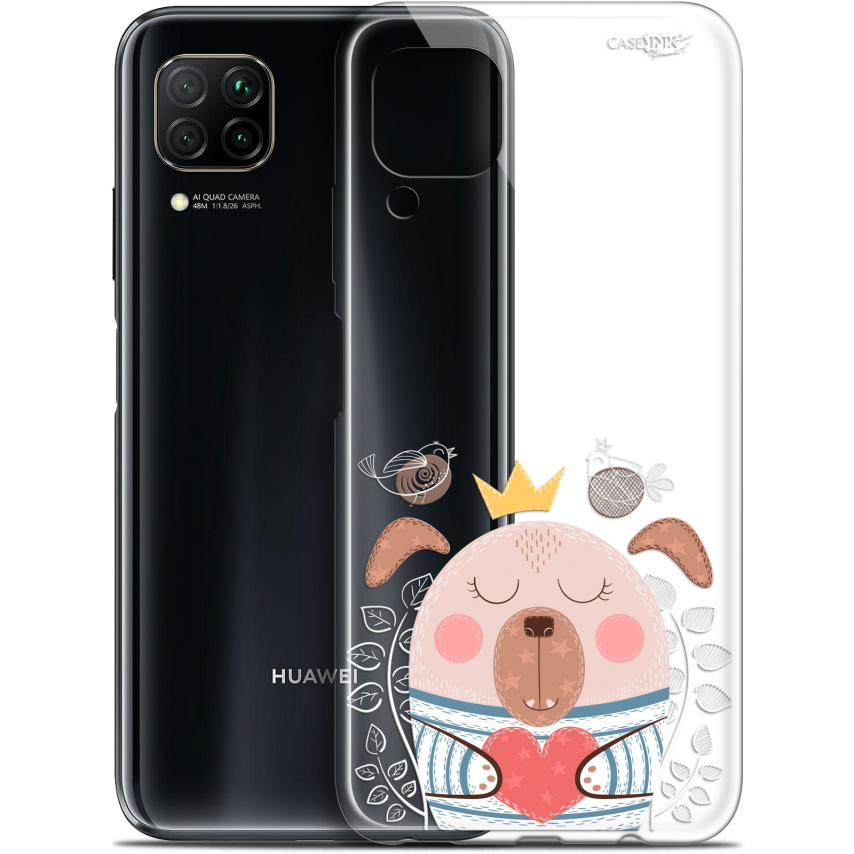 "Extra Slim Gel Huawei P40 Lite (6.4"") Case Design Sketchy Dog"